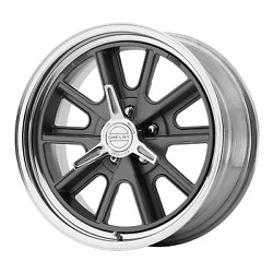 American Racing Vintage 427 18x8 5x114.3 00 72.60 Two-piece Mag Gray Center
