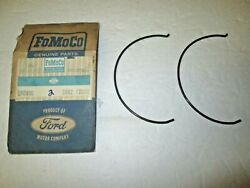 Nos 60 61 62 63 64 65 Ford 8 Cyl 3 Speed O/d Hub Insert Retaining Snap Rings