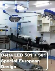 Surgical And Examination Led Ot Light For Surgery Delta Led 501+501 Or Lamp Light