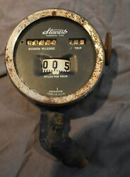 Stewart Magnetic Type Speedometer 1920and039s 1930and039s Adapter Included---- Works
