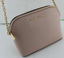 NEW AUTHENTIC MICHAEL KORS CINDY BALLET PINK LG DOME CROSSBODY WOMEN#x27;S HANDBAG $89.99