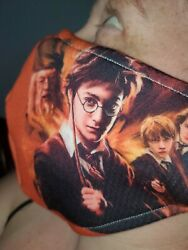 Homemade Fabric Reusable Face Mask washable harry Potter theme $10.00