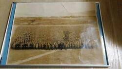 Imperial Japanese Army Large Exercise Group Photo Military Antique 1935 Japan
