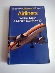 THE NEW OBSERVER#x27;S BOOK OF AIRLINERS.1983 1st Edition. PAPER BACK. quot;Flexijacketquot; GBP 4.90