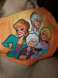 Homemade Fabric Reusable Face Mask washable Golden Girls Betty White