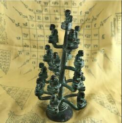 Tree Of Life 19 Buddha Statue Lucky Charm Lp Tuad Thai Amulet Wealthy Fengshui