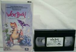 We're Back A Dinosaurs Story Vhs, 1994, Clamshell