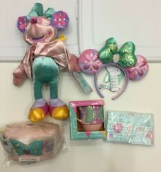 Lot Of 5 Disney Minnie Mouse Main Attraction It's A Small World Complete Set