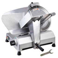 12and034 Blade Commercial Meat Slicer Electric Deli Slicer Veggies Cutter Kitche