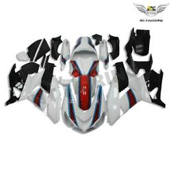 Fit For Kawasaki White Fairing Ninja Zx14r 2006-2011 Injection Mold Abs R034