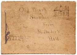Photo Album Old Maid Sketches From Bachelor's Hall / 1895