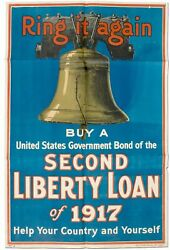 Broadside Ring It Again Buy United States Government Bond Of The Second Liberty