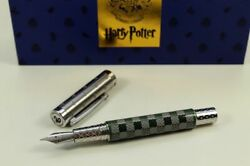 Montegrappa Harry Potter Slytherin Fountain Pen Fine Resin Green Grey New
