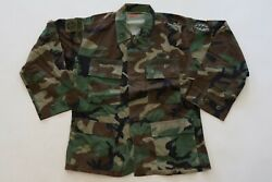 Original Us Army Bdu Jacket Shirt Operation Iraqi Freedom Special Forces 82nd Ad