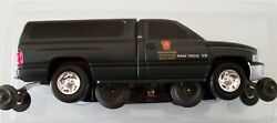 Lionel 18438 Penn Dodge Inspection Car new And Motorized