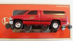 Lionel 18436 Nyc Dodge Ram Inspection Car new And Motorized