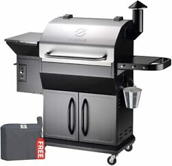 Z Grills Wood Pellet Grill And Smoker 8 In 1 Bbq Grill W/pid Controller 1000sq In