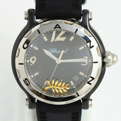 Free Shipping Pre-owned Chopard Happy Sport 28/8507 Limited Model Quartz