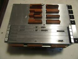 X7 Van Dorn 9 Slot Control Rack With Boards Tmp,ana,seq,oi,com Others Complete