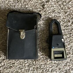 Tif Lcd1000 Ac Digital Clamp-on Volt-ohm-ammeter Manual And Case Tested Turns On