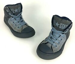 Converse All Star Kids CTAS Street High Hi Top Shoes Youth Boys Girls Size 11.5 $13.59