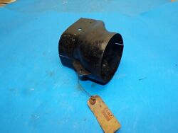 1949 1950 51 52 Ford Heater Duct Shield Riser Nos Outlet 4-1/8 X 3-3/4