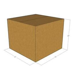 25x25x20 New Corrugated Boxes For Moving Or Shipping Needs - 32 Ect