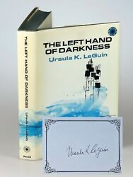 Ursula K. Leguin, The Left Hand Of Darkness, Jacketed 1st, With Signed Bookplate