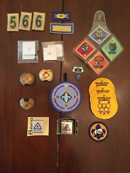 Cub Scout-pins Patches Slides. Pins And Belt Loops Are New Free Shipping.