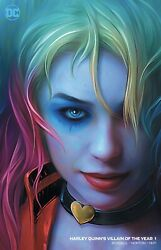 HARLEY QUINN VILLAIN OF THE YEAR #1 SHANNON MAER MIN TRADE NM or Better $29.99