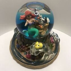 Disney The Little Mermaid Part Of Your World Musical Light Up Snow Globe