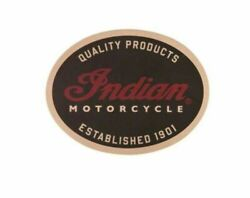 Indian Motorcycle Leather Patch For Jacket Vest From Dealership New 2863951