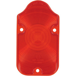 Drag Specialties - 12-0400-l - Red Lens For Tombstone Taillight