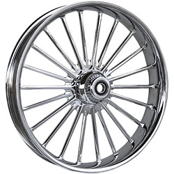 Rc Components - 23375-9031-126c - Ilusion Forged Front Wheel Dual Disc, 23in. X