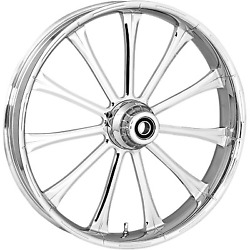 Rc Components - 23375903114122c - Exile Forged Front Wheel Dual Disc, 23in. X 3.