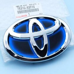 Genuine 2012-15 Toyota Prius-c Front Grille Emblem And Name Plate Assy 75310-52010