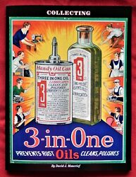 Three In One Oil Collector Reference Book, 3 In 1 Handy Oil Can Oiler Only Here