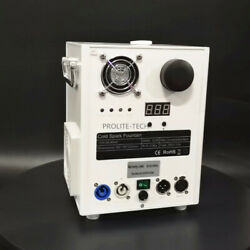 Cold Spark Machine White Cover Special Stage Effect 6 Bags Ti Powder Msds