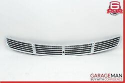 03-11 Mercedes Cls500 E500 Front Hood Air Vent Grill Grille Mesh Panel Silver