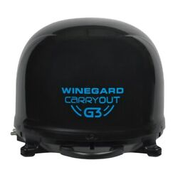Winegard Gm-9035 Carryout G3 Automatic Portable Satellite Tv Antenna - Black New