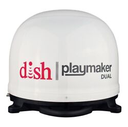 Winegard Pl-8000 Dish Playmaker Dual Automatic Portable Satellite Antenna New