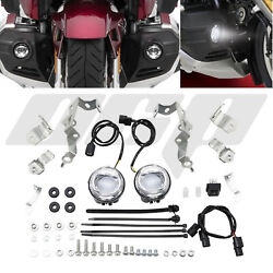 Honda 2018 - 2020 Gold Wing 1800 Gl1800 Complete Led Foglight And Install Kit
