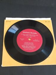 Scholastic Records Cc1612 In Which Winnie The Pooh Goes Visiting Excellent 45