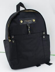 NEW AUTHENTIC MARC JACOBS PREPPY BLACK NYLON BACKPACK HANDBAG WOMEN#x27;S M0012907 $129.99