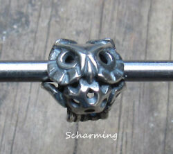 Authentic Trollbeads Silver Wise Owl Tagbe-30140