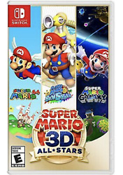 Super Mario 3D All Stars Nintendo Switch BRAND NEW FREE SHIPPING