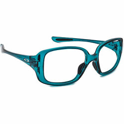 Oakley Women#x27;s Sunglasses FRAME ONLY OO9193 07 LBD Turquoise Square Italy 53mm $79.99