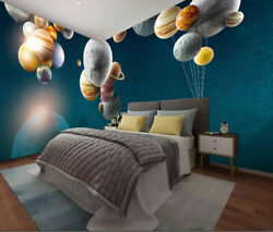 3d Planet Balloon Zhua8127 Wallpaper Wall Murals Removable Self-adhesive Amy
