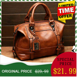 Women Leather Handbag Tote Purse Large Messenger CrossBody Shoulder Bag $25.79