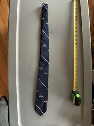 """Castle Neck Tie American And Canadian Flag 58"""""""